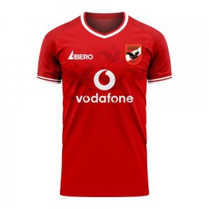 Al Ahly 2020-2021 Home Concept Football Kit (Libero) - Little Boys