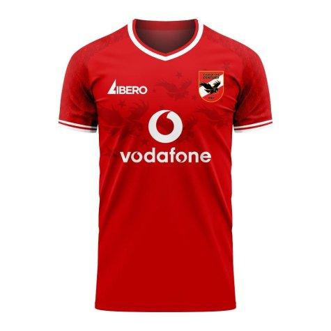 Al Ahly 2020-2021 Home Concept Football Kit (Libero)