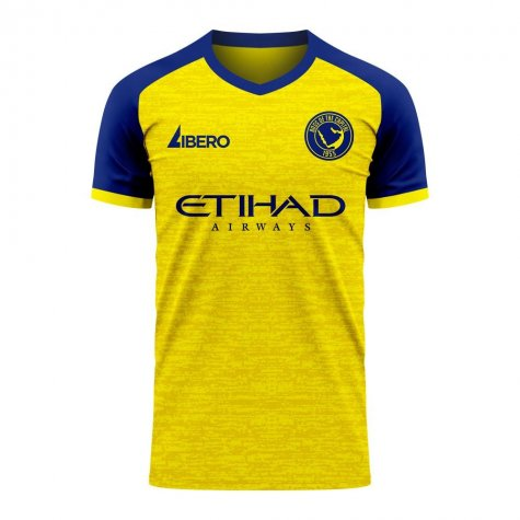 Al-Nassr 2020-2021 Home Concept Football Kit (Libero) - Womens