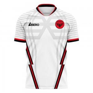 Albania 2020-2021 Away Concept Football Kit (Libero) - Little Boys