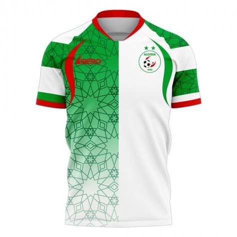 Algeria 2020-2021 Home Concept Football Kit (Libero)