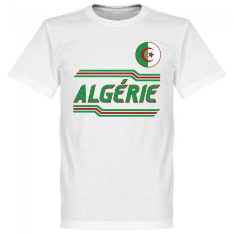 Algeria Team T-Shirt - White