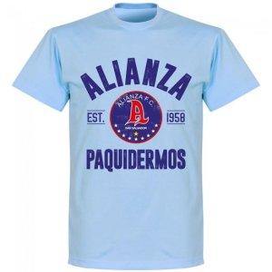 Alianza Established T-shirt - Sky Blue