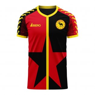 Angola 2020-2021 Home Concept Football Kit (Viper) - Womens
