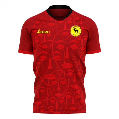 Angola 2020-2021 Home Concept Football Kit (Libero) - Kids
