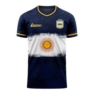 Argentina 2020-2021 Away Concept Football Kit (Libero)