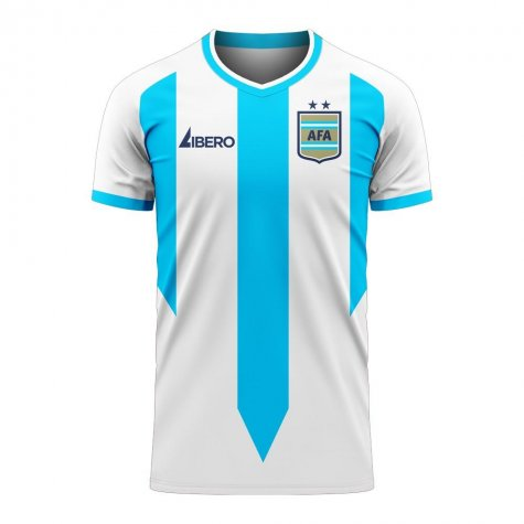 Argentina 2020-2021 Home Concept Football Kit (Libero) - Kids