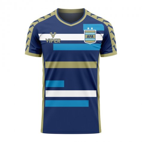 Argentina 2020-2021 Away Concept Football Kit (Viper) - Kids