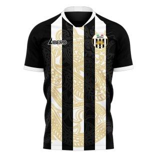 Ascoli 2020-2021 Home Concept Football Kit (Libero)