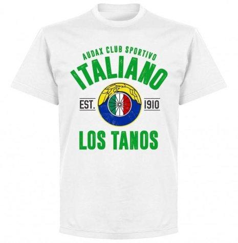Audax Italiano Established T-Shirt - White