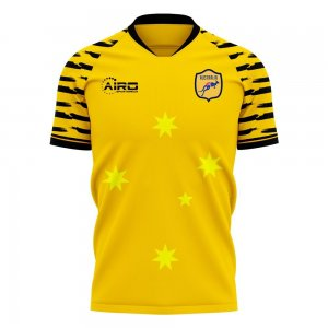Australia 2020-2021 Home Concept Football Kit (Libero)