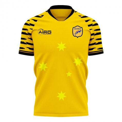 Australia 2020-2021 Home Concept Football Kit (Libero) - Womens