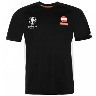 Austria UEFA Euro 2016 Poly Training Tee (Black)