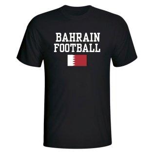 Bahrain Football T-Shirt - Black