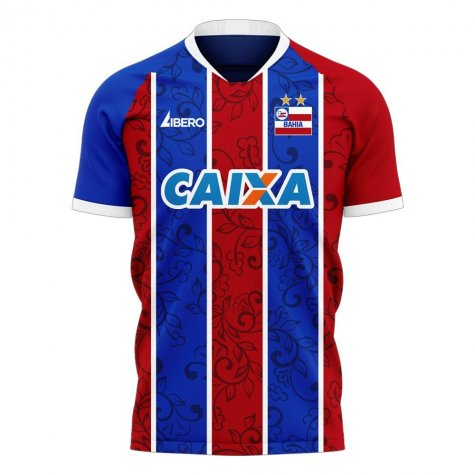 Bahia 2020-2021 Home Concept Football Kit (Libero) - Little Boys