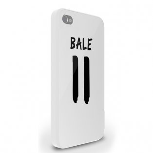 Gareth Bale Real Madrid iPhone 5 Cover (White)