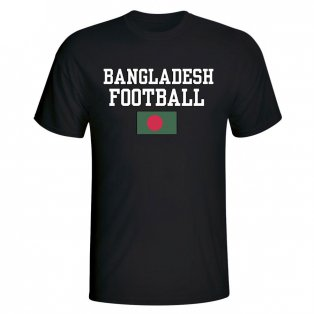Bangladesh Football T-Shirt - Black