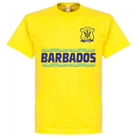 Barbados Team T-Shirt - Yellow