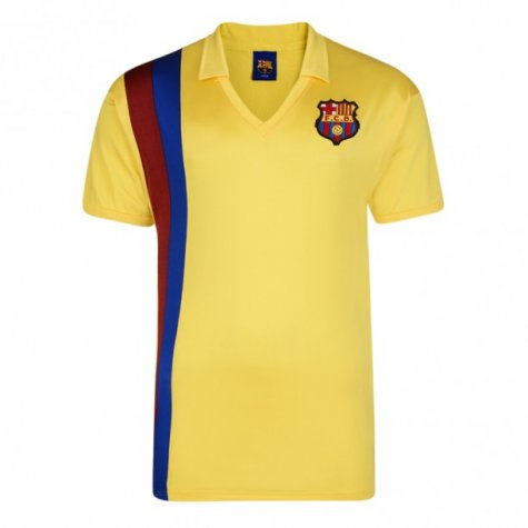 Score Draw Barcelona 1982 Away Shirt
