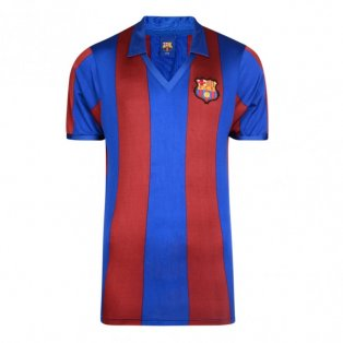 Score Draw Barcelona 1982 Home Shirt