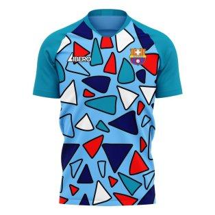 Barcelona 2020-2021 Third Concept Football Kit (Libero)