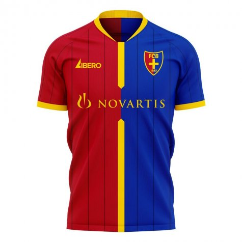 FC Basel 2020-2021 Home Concept Football Kit (Libero)