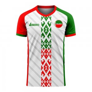 Belarus 2020-2021 Home Concept Football Kit (Libero) - Kids