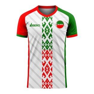 Belarus 2020-2021 Home Concept Football Kit (Libero) - Womens