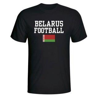Belarus Football T-Shirt - Black