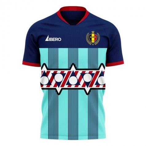 Belgium 2020-2021 Goalkeeper Concept Football Kit (Libero) - Womens