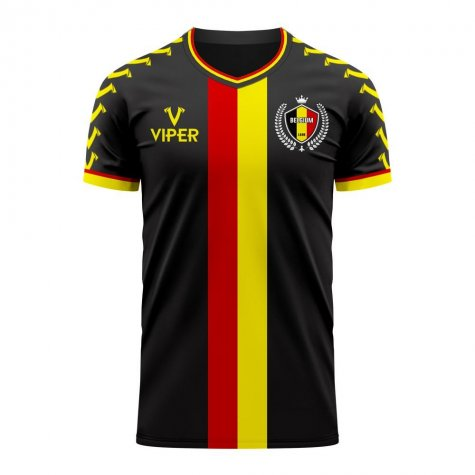 Belgium 2020-2021 Away Concept Football Kit (Viper)