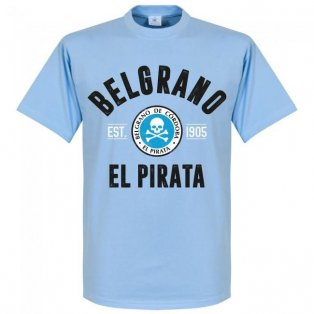 Belgrano Cordoba Established T-Shirt - Sky