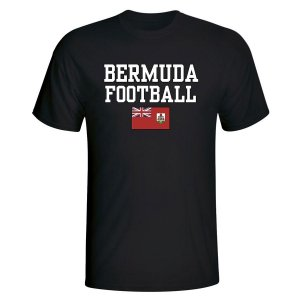 Bermuda Football T-Shirt (Black)