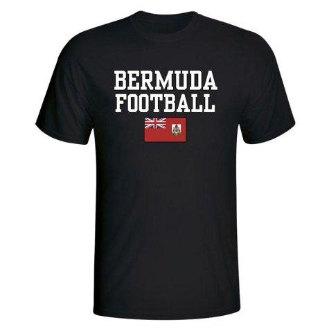 Bermuda Football T-Shirt (Black)