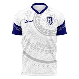 Bidvest Wits 2020-2021 Home Concept Football Kit (Libero)