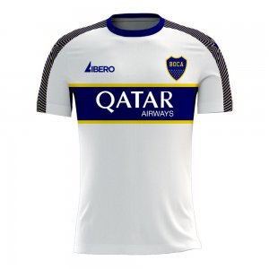Boca Juniors 2020-2021 Away Concept Football Kit (Libero) - Little Boys