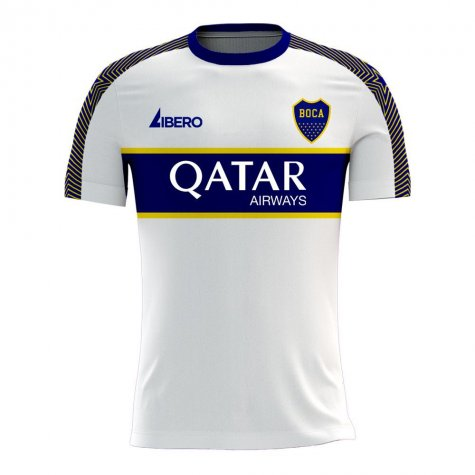 Boca Juniors 2020-2021 Away Concept Football Kit (Libero)