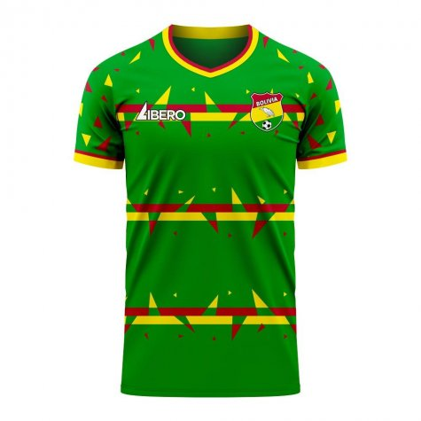 Bolivia 2020-2021 Home Concept Football Kit (Libero) - Womens