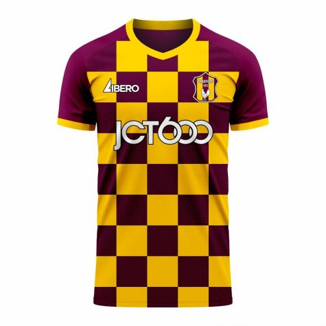 Bradford 2020-2021 Home Concept Football Kit (Libero)