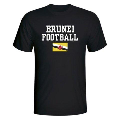 Brunei Football T-Shirt - Black