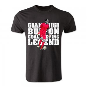 Gianluigi Buffon Goalkeeping Legend T-Shirt (Black)