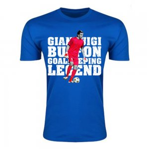 Gianluigi Buffon Goalkeeping Legend T-Shirt (Blue) - Kids