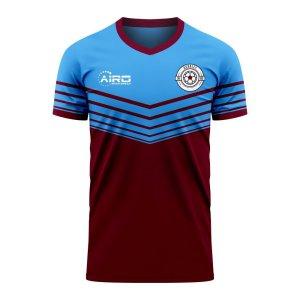 Burnley 2020-2021 Home Concept Football Kit (Airo) - Womens