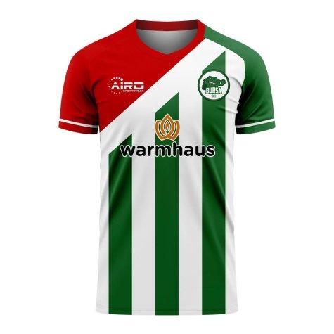 Bursaspor 2020-2021 Home Concept Football Kit (Airo) - Womens