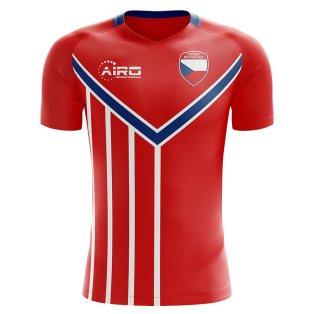 Czech Republic 2020-2021 Home Concept Football Kit (Airo)