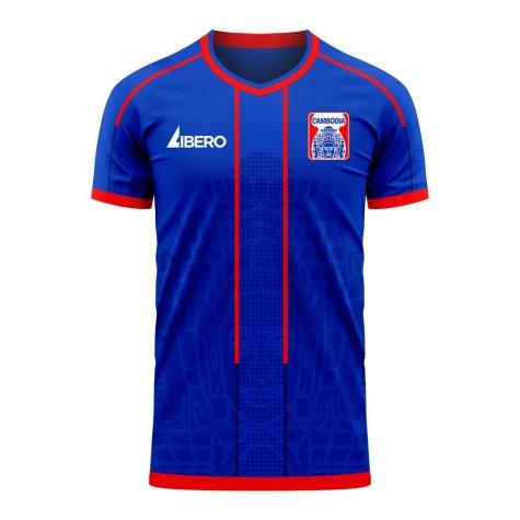 Cambodia 2020-2021 Home Concept Football Kit (Libero) - Baby