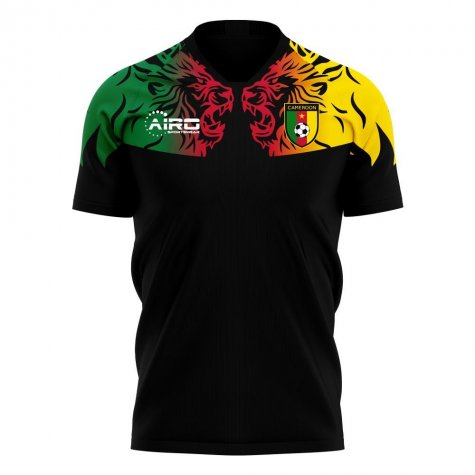 Cameroon 2020-2021 Third Concept Football Kit (Airo)
