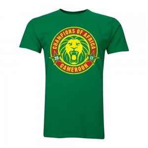 Cameroon African Nations Winners T-Shirt (Green)