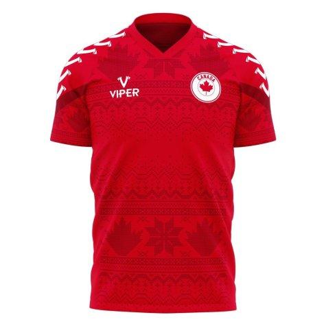 Canada 2021-2022 Home Concept Football Kit (Viper)