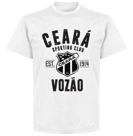 Ceara Established T-Shirt - White